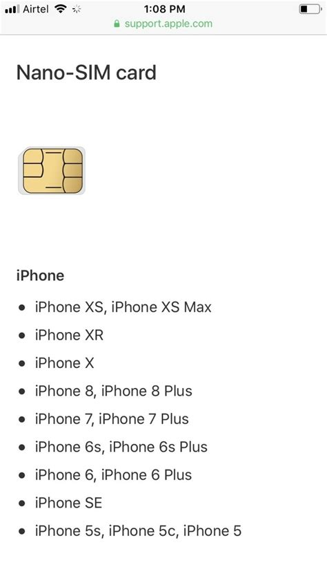 We did not find results for: Will an iPhone 6 SIM card work on an iPhone 8? - Quora
