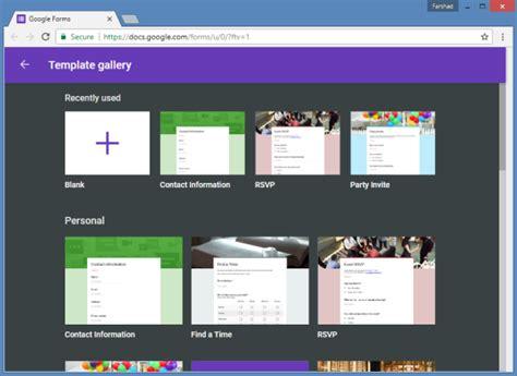 create  survey  google forms