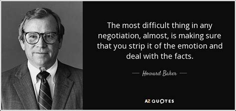 howard baker quote   difficult