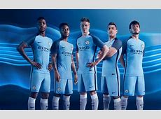 Manchester City 1617 Home Kit Released Footy Headlines