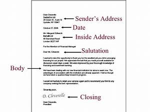 Example of inside address in business letters the letter for Who should you address your cover letter to
