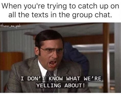 Group Chat Meme - more group chat memes mutually