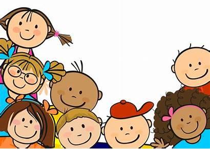Children Clipart Clip Child Cartoon Happy Vector