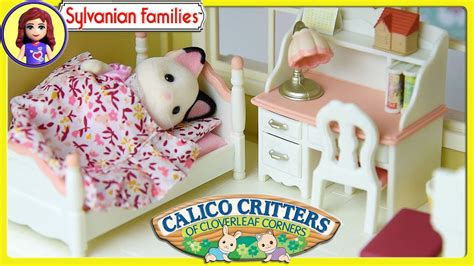 Sylvanian Families Calico Critters Girls Bedroom Set