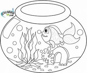 Goldfish Coloring Pages | Minister Coloring