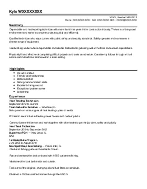 superintendent resume exle union ironworker apprentice