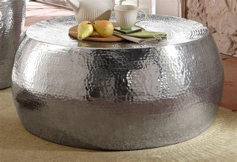 home affaire couchtisch beistelltisch aus aluminium