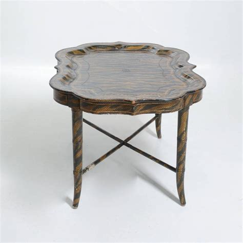 hand painted coffee table hand painted tiger print coffee table by maitland smith