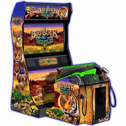 Buck Hunter Arcade Games Cabinet Machines Gun