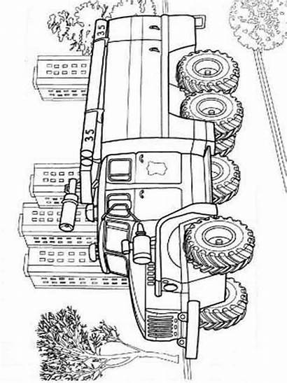 Coloring Fire Truck Pages Printable Cars Trucks