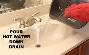 how to clean a stinky sink drain and instantly stop nasty With strong sewer smell in bathroom