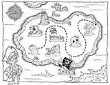 Treasure Coloring Pirate Map Maps Fantasy Hunt Colouring Island Boys Letscolorit Printable Birthday Blank Godzilla 1000 Learning Printables Pirates Clues sketch template