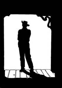 Western Cowboy Hat Silhouettes