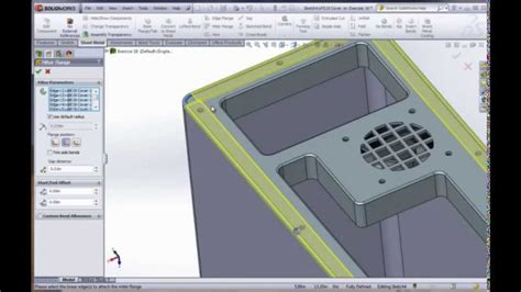 e19 solidworks 2012 advanced sheet metal youtube