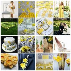 """""""floral Sunshine""""  A Daffodil Inspired Wedding Theme  Moodboard And Styling Ideas"""
