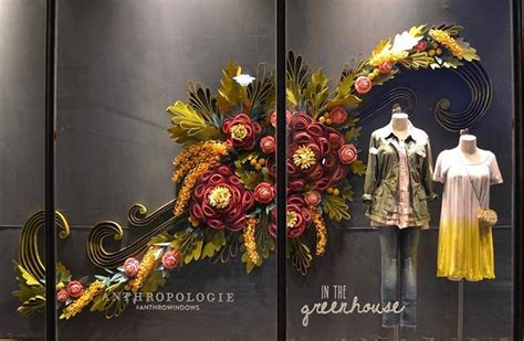 greenhouse  spring  windows anthropologie