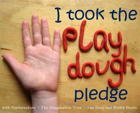 Take The Play Dough Pledge
