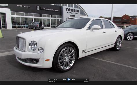 2018 Bentley Mulsanne Mulliner Start Up Exhaust And In