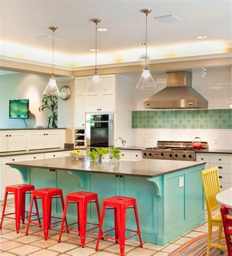 turquoise kitchen island tammara stroud design