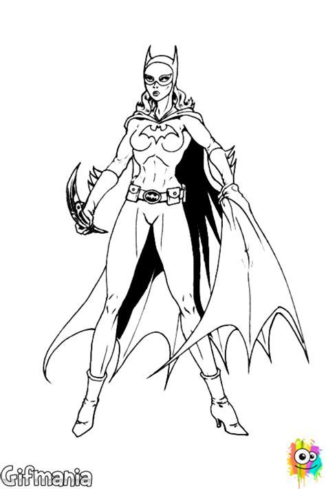 Kleurplaat Batgirl by Batgirl Batgirl Comic Drawing Coloring Pages Batman