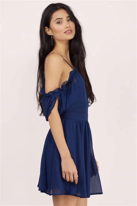Not Too Busy Dress - $9.00   Tobi