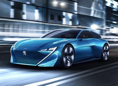 Peugeot Concept Car by Peugeot Instinct Electric Self Driving Concept Car