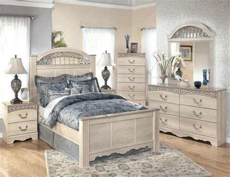 catalina poster bedroom set  ashley