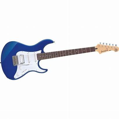 Guitar Electric Clipart Rock Yamaha Clip Silhouette