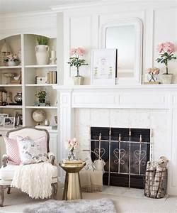 spring, into, summer, mantel, decor