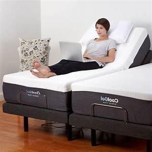 Adjustable Split King Size Electric Bed Frame Base