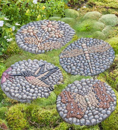 Decorative Garden Yard decorative stepping stepping stones landscaping