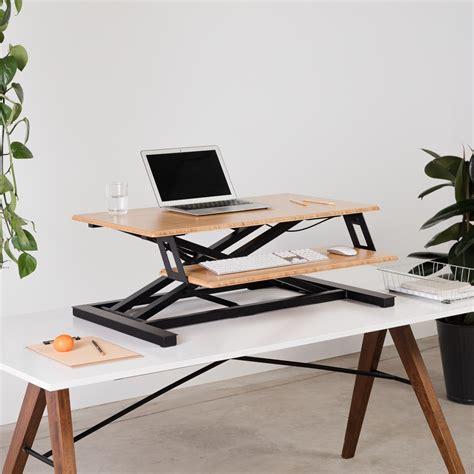 cheap standing desk converter cheap stand up desk converter american hwy