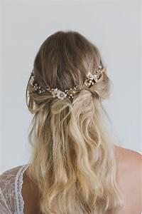 POETIC Delicate Bridal Hair Vine With Flowers Tania Maras