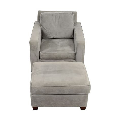 grey chair and ottoman 49 off west elm west elm grey accent chair and ottoman