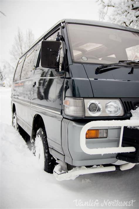 1991 mitsubishi delica wagon l300 4wd automatic turbo diesel vanlife northwest
