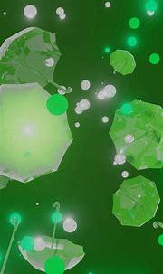 👁️ 🎥 #Green #Abstract #3D Art Umbrella Particle [Video ...