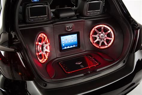 toyota yaris dub concept tuning stereo speakers