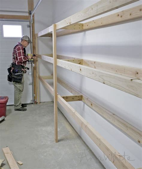 Garage Shelving Projects by Teds Woodworking Plans Review Basement Shelving Tote