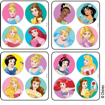 Stickers Princesse Disney Disney Princesses Minibadges Stickers Stickers From Medibadge