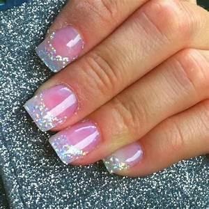 Love the glitter   Porque no lucir unas uñas hermosas ...