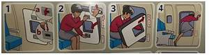 Airplane Emergency Instructions  How Do You Make A Work