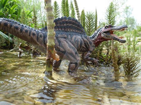 Spinosaurus, Papo, Repainted By Polihierax On Deviantart