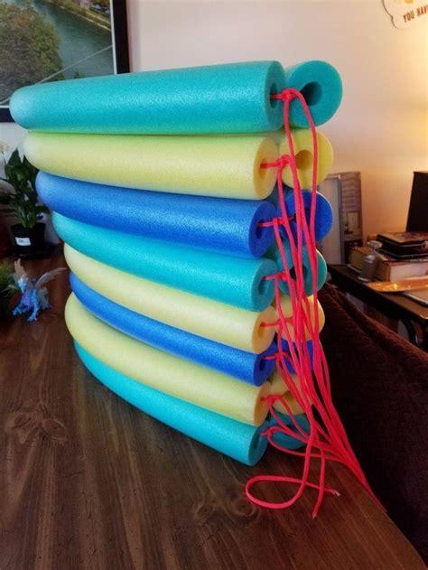 pool noodle flower float kiddies corner diy pool pool