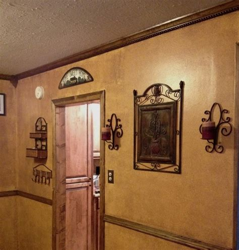 i hated the mustard color on my walls using behr faux