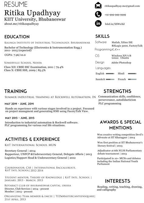 How To Write A Better Resume by Critique How Can I Organize Info In My R 233 Sum 233 In A