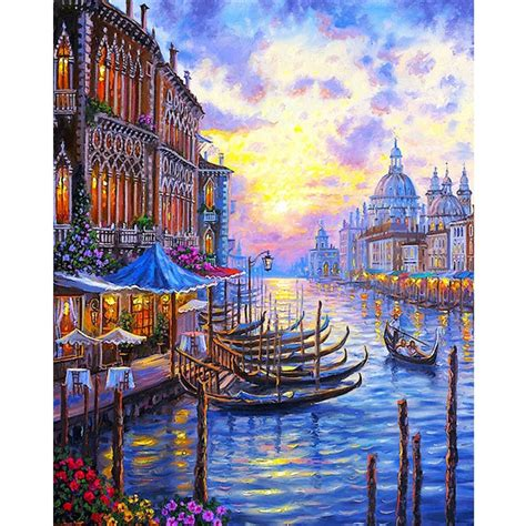 diy digital oil painting  numbers paint drawing coloring