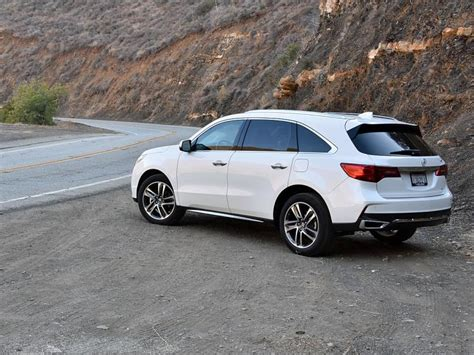 2019 Acura MDX White : Ratings And Review