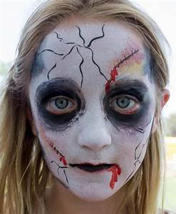 How to paint a zombie face by Auntie Stacey | Auntie ...
