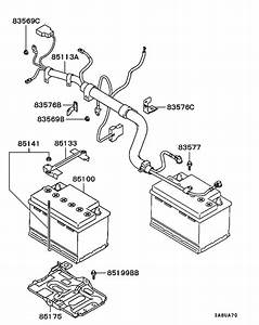 Battery Cable  U0026 Bracket For 2001