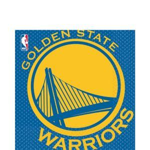 golden state warriors lunch napkins ct party city